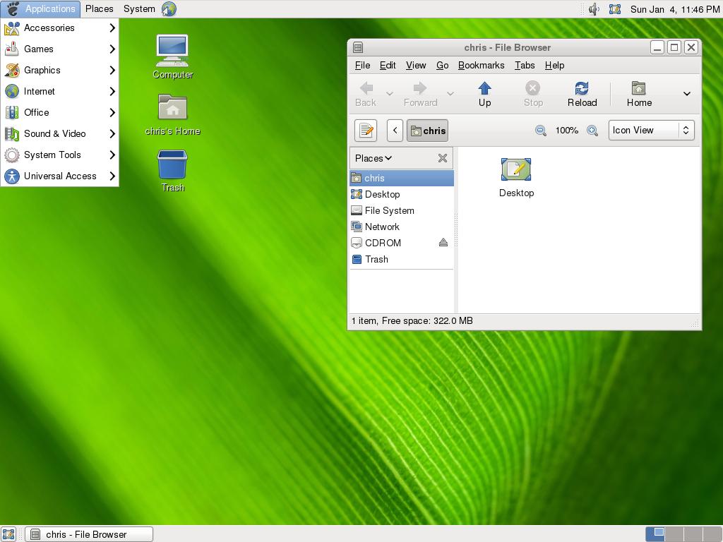 arch-linux-default-gnome-desktop